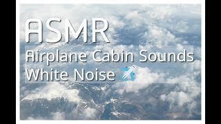 asmr:  30 Minutes Aeroplane Cabin White Noise 🌥️🛫| For Sleep / Study / Meditation / Relaxation