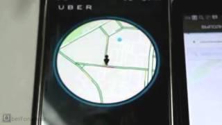 Школа водителя Uber: 2. Как принять заказ(Как взять заказ на такси в убер приложении. Вы увидите, как выглядит вызов убер водителя с клиентского прило..., 2015-10-21T20:18:42.000Z)