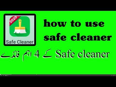 Safe cleaner |