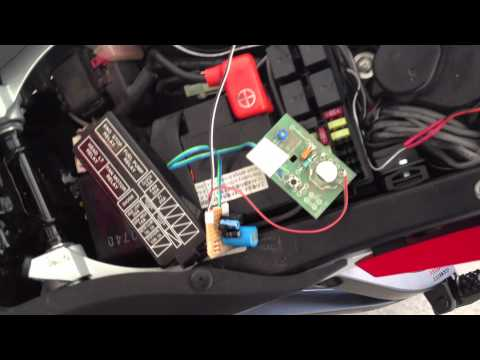 Remote entry from High Beam Toggle - CBR600RR