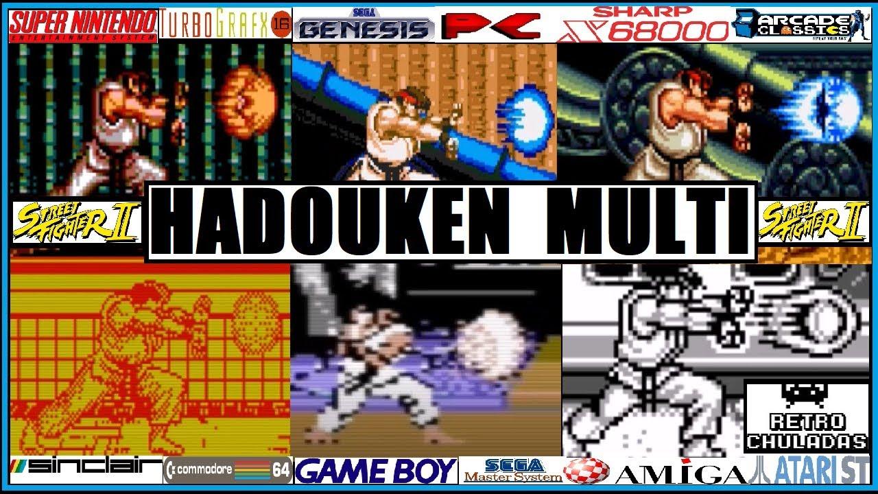 Street Fighter 2 - Hadouken de Ryu en Diferentes Sistemas / Ryu's Hadouken  in Different Platforms