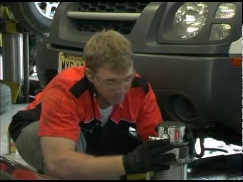 Xterra ARB Bumper and Warn Winch Install
