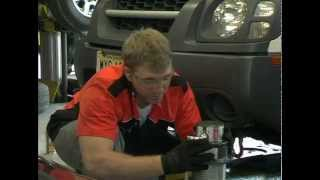 Host Dave Cheli shows us how to install an ARB Bull Bar with Warn W...