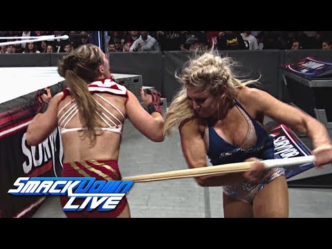 Relive Charlotte Flairs ruthless attack on Ronda Rousey: SmackDown LIVE, Nov. 20, 2018