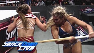 Relive Charlotte Flair's ruthless attack on Ronda Rousey: SmackDown LIVE, Nov. 20, 2018