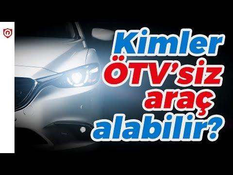 Kimler ÖTV'siz araç alabilir?