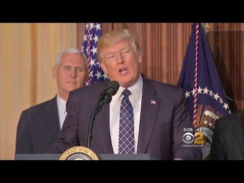 President Trump Touts Job Creation Amid Climate Change Rollbacks