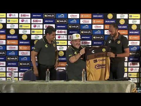 مارادونا يتحدّث عن كرة القدم ومعاناته مع المخدرات  - 16:53-2018 / 9 / 11