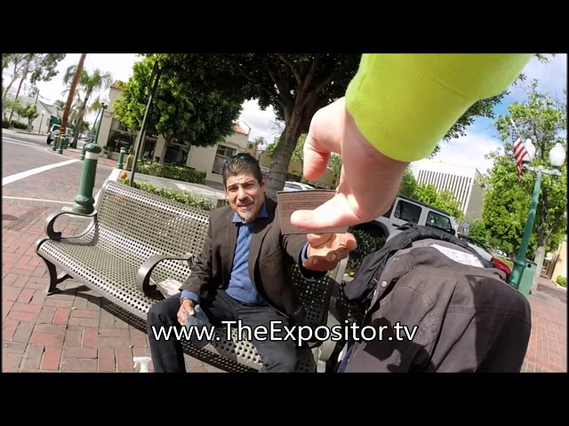 Evangelizing Restaurant Drive-Thru's via bicycle