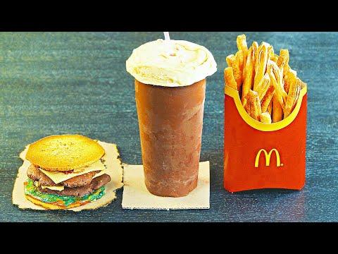 СДЕЛАЛИ СЛАДКОЕ МЕНЮ McDonald`S!)