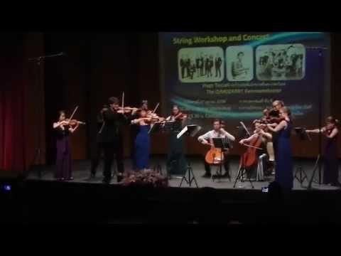 "Hugo Ticciati and the O/Modernt played  "" Sansoen Phra Barami "" in Bangkok"