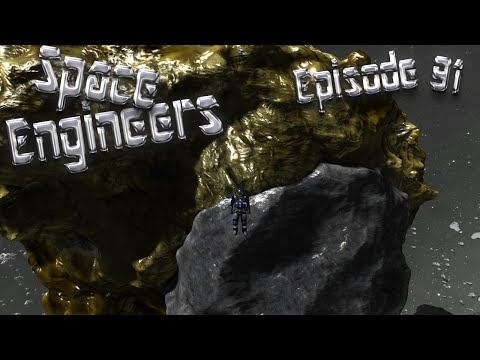 Let's Play Space Engineers - Episode 91: GAME UPDATE - Spawning Asteroids!
