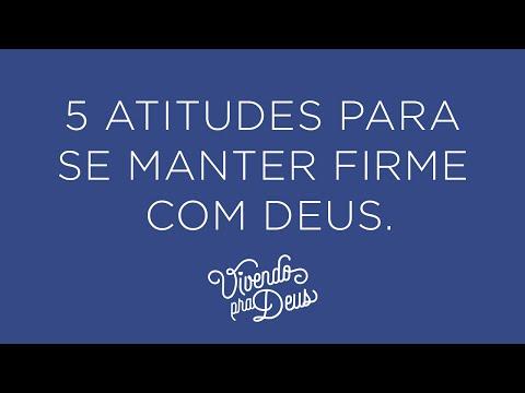 5 ATITUDES PARA SE MANTER FIRME COM DEUS | Rayssa Inácio