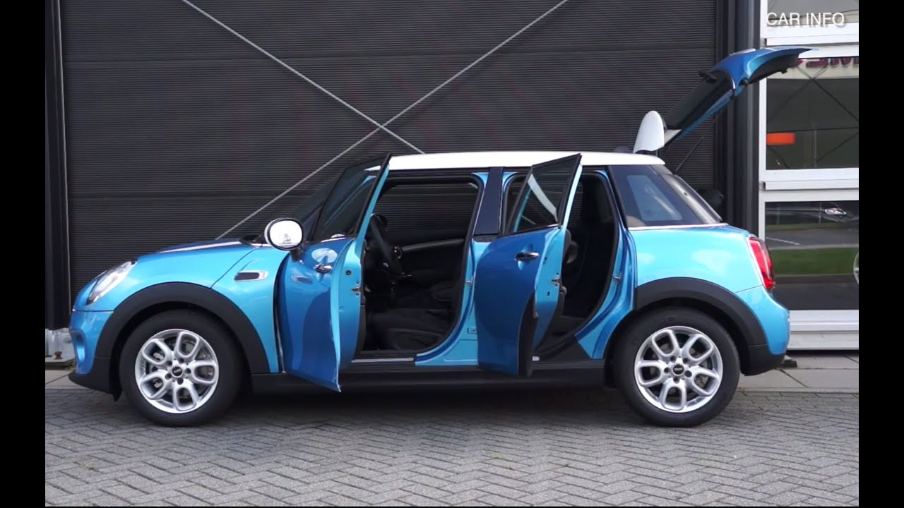 & New MINI 5-door Review - Touch and Feel TEST ? - YouTube