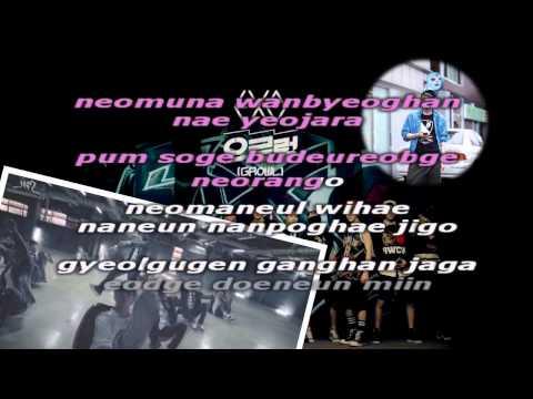 Growl - EXO (Karaoke/Instrumental)