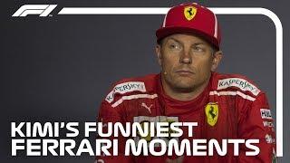 Kimi Raikkonen's Funniest Moments at Ferrari
