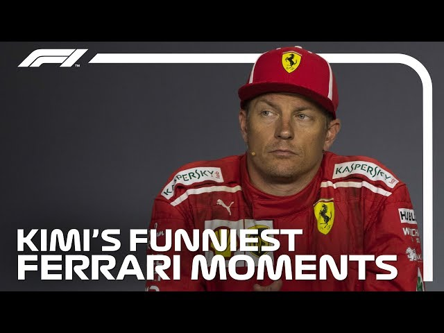 Kimi Raikkonens Funniest Moments at Ferrari