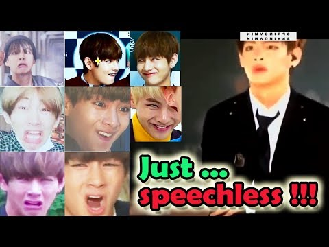 BTS V / Taehyung With Funny Face Will Make You Speechless #2