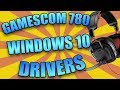 How To FIX Install And Run Plantronics Gamecom 780 Drivers On Windows 10 Creators Update 2017 mp3