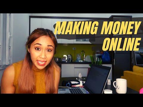 HOW I MAKE MONEY ONLINE   The many ways to work remotely