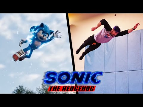 Stunts From Sonic The Hedgehog In Real Life (Part 2)
