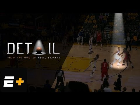 Kobe Bryant shows how Steph Curry should defend against Rockets | 'Detail' Excerpt | ESPN