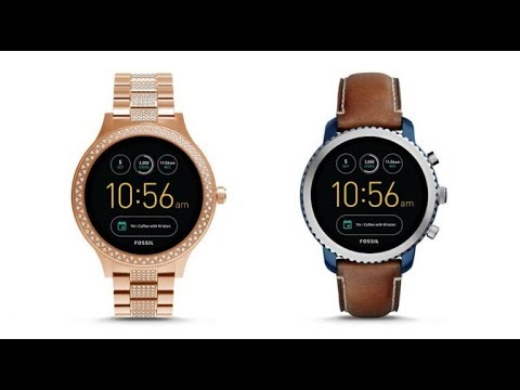 07fc690df078a Fossil Q Venture and Q Explorist Android Wear 2.0 Smartwatches ...