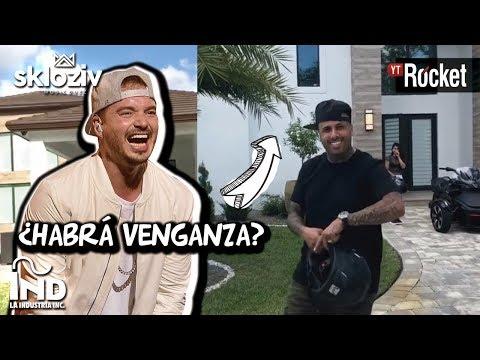 J Balvin Muestra la Casa de Nicky Jam ¿Habra venganza?