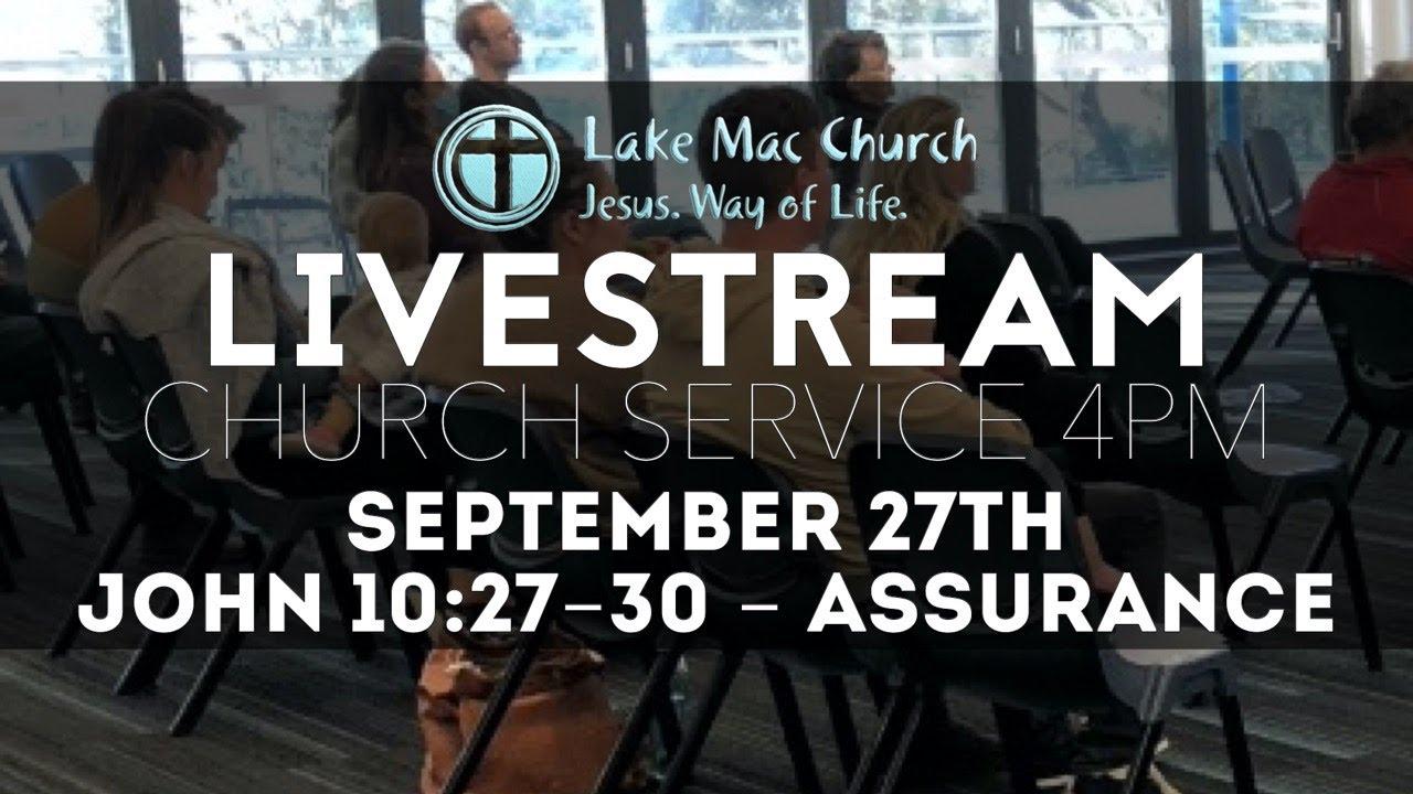 John 10 - Assurance - Sept 27