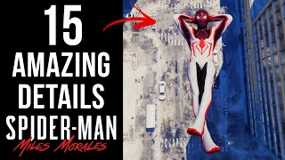 15 AMAZING Details in Spider-Man: Miles Morales