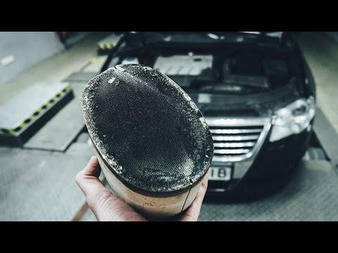 Спаси двигатель, пока не поздно! Удаление экологии на VW Passat B6 2 0dti +тюнинг