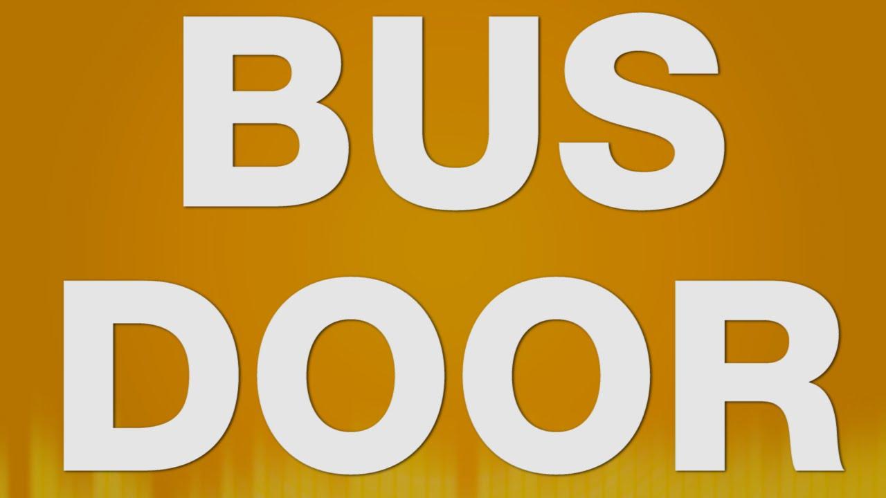 Bus Door SOUND EFFECT - Bus Truck Tür SOUNDS  sc 1 st  YouTube & Bus Door SOUND EFFECT - Bus Truck Tür SOUNDS - YouTube