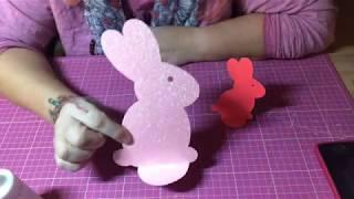 Schnelle Osterhasen DIY