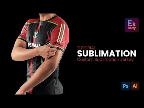 (MALAYSIA) Custom Jersi Sublimation - Tutorial
