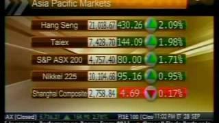 Asia Stocks Rebound