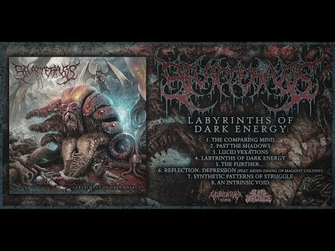 SPLATTERPUSS - LABYRINTHS OF DARK ENERGY [OFFICIAL ALBUM STREAM] (2018) SW EXCLUSIVE