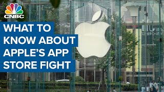 What investors should know about Apple's app store fight