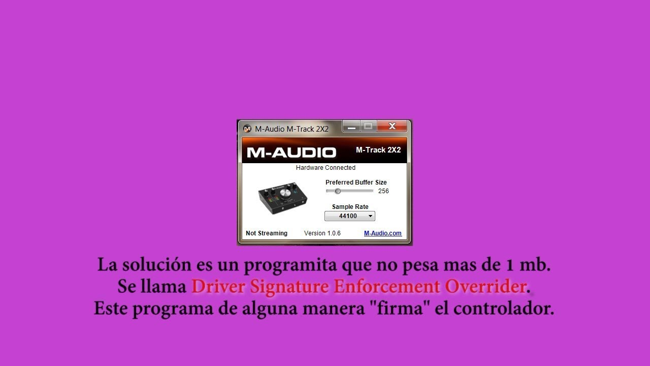 m audio m track plus driver windows 10 download