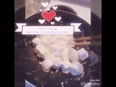 家里也可以自制牛轧糖 homemade nougat!!!!