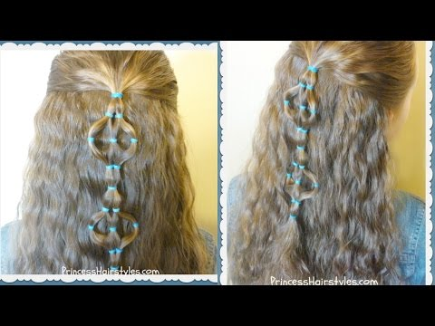 Elastic Design Half Up Hairstyle thumbnail