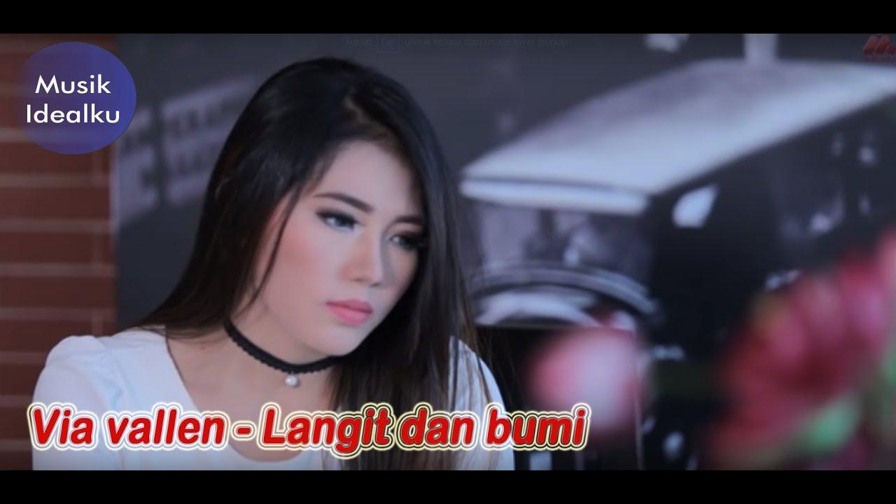 Dangdut: Via vallen - Langit dan bumi video lirik #1