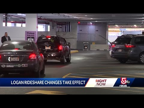 Logan Airport's Big Changes To Uber. Lyft Pickups Being Phased In