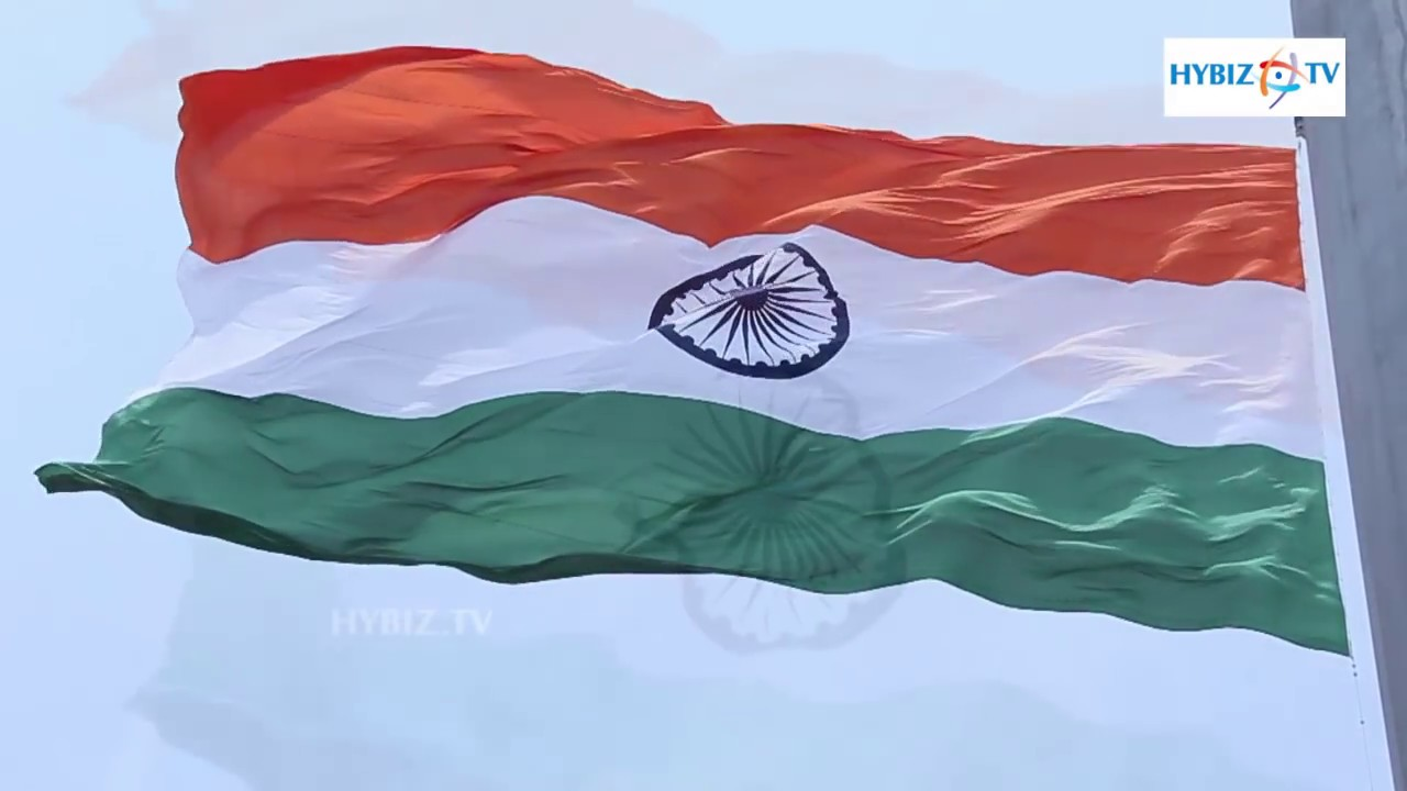 s largest national flag at hyderabad hybiz s largest national flag at hyderabad hybiz