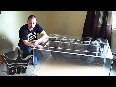HOW TO: Build An Aquarium 6/6