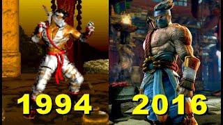 Evolution of killer instinct 1984-2016