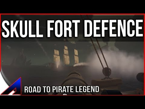 Skeleton Fort Defence! | The Sea of Thieves Episode 20 SoT