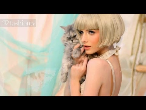 Candy Floss Video Shoot by Leone Stave | FashionTV