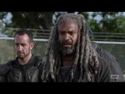 The Walking Dead 7x13 Morgan Kills Richard