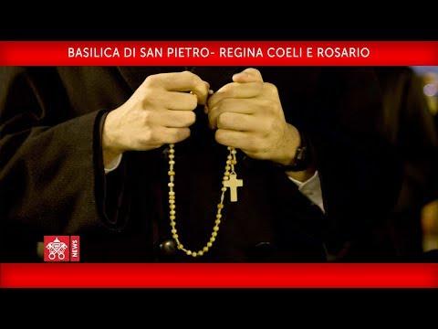 Regina Coeli e Rosario 25 Maggio 2020 Cardinal Comastri