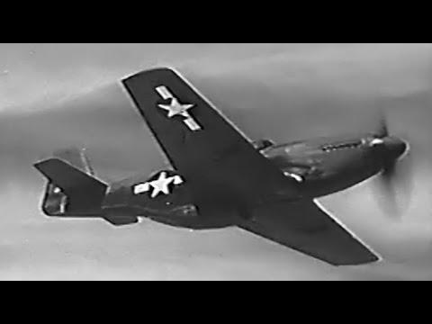 Flight Characteristics of the North American P-51 Mustang: How to Fly the P-51 Fighter